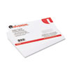 Universal Unruled Index Cards, 5 x 8, White, 100/Pack