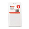 Removable Self-Adhesive Multi-Use Labels, 1 x 3, White, 250/Pack