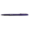 Porous Point Stick Pen, Blue Ink, Medium, Dozen