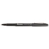 Universal Porous Point Stick Pen, Black Ink, Medium, Dozen