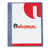 Universal One Plastic Cover, Tang Clip, Letter, 1/2