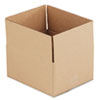 Corrugated Kraft Fixed-Depth Shipping Carton, 10w x 12l x 6h, Brown, 25/Bundle