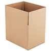 Universal Corrugated Kraft Fixed-Depth Shipping Carton, 18w x 24l x 18h, 10/Bundle