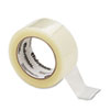 Quiet Carton Sealing Tape, 2&quot; x 110 yards, 3&quot; Core, Clear, 6/Box