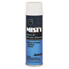 Misty Glass & Mirror Cleaner w/Ammonia, 19oz Aerosol, 12/Carton