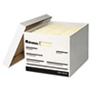 Universal Extra-Strength Storage Box, Letter/Legal, 12 x 15 x 10, White, 12/Carton