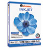 Inkjet Paper, 98 Brightness, 24lb, 8-1/2 x 11, White, 500 Sheets/Ream
