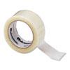 "Heavy-Duty Box Sealing Tape, 2"" x 55yds, 3"" Core, Clear, 36/Pack"