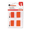 Page Flags, Red, 2 Dispensers of 50 Flags/Pack