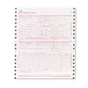 CARDINAL BRANDS INC. Adams CMS Health Insurance Claim Form, 9-1/2 x 11, Three-Part, 100 Continuous Forms