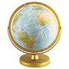 Advantus Physical and Political 12-Inch Globe, Metal Desktop Base