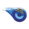 "BIC Wite-Out EZ Correct Correction Tape, Non-Refillable, 1/6"" x 397"", EA - BICWOTAPP11"