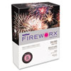 Boise FIREWORX Colored Paper, 24lb, 8-1/2 x 11, Hot Pink Mimi, 500 Sheets/Ream