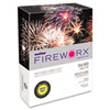 Boise Fireworx Colored Paper, 24lb, 8-1/2 x 11, Lemon Zest, 500 Sheets/Ream, RM - CASMP2241LN