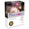 Boise Fireworx Colored Paper, 24lb, 8-1/2 x 11, Combustible Orange, 500 Sheets/Ream, RM - CASMP2241TE