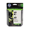 CD947FN (HP 60) Ink, Retail, 165 Page-Yield, Tri-Color