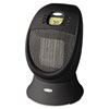 HONEYWELL ENVIRONMENTAL Honeywell SureSet 1500W Digital Oscillating Ceramic Heater, 9-5/8 x 9-7/8d x 14-1/8, Black