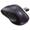 Logitech M510 Wireless Mouse, Three Buttons, Silver