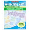 SCHOLASTIC INC. Scholastic Reteaching Math, Algebra Readiness, Grades 4-6, 96 Pages
