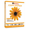 Universal Copy Paper, 92 Brightness, 20lb, 8-1/2 x 11, White, 5000 Sheets/Carton