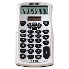 VCT 1170 Victor 1170 Handheld Business Calculator with Slide Case VCT1170
