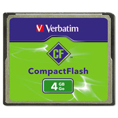 VER 95188 Verbatim CompactFlash Cards VER95188