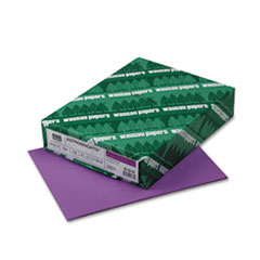 Astrobrights Colored Paper, 24lb, 8-1/2 x 11, Planetary Purple, 500 Sheets/Ream