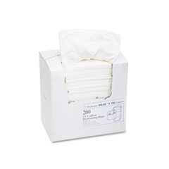 Draw 'n Tie Heavy-Duty Trash Bags, 13gal, .9mil, 24.5 x 27 3/8, White, 200/Box