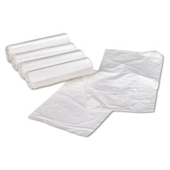 High Density Can Liners, 31-33 gal, 11 mic, 33 x 40, Natural, 100/Carton