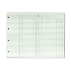WLJ GN2B Wilson Jones Double Entry Ledger Form WLJGN2B