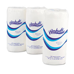 Windsoft Perforated Paper Towel Rolls, 11