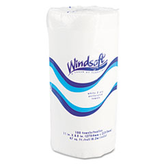 WIN 1220RL Windsoft Perforated Paper Towel Rolls WIN1220RL