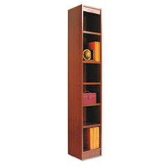 ALE BCS67212MC Alera Narrow Profile Bookcase With Finished Back ALEBCS67212MC