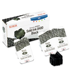 108R00604 Solid Ink Stick, 1,133 Page-Yield, 3/Box, Black