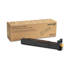 Xerox 106R01316 High-Yield Toner, 12000 Page-Yield, Black