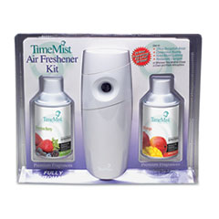 TimeMist Metered Fragrance Dispenser Kit w/2 Refills Cans, 6.6 oz. Aerosol