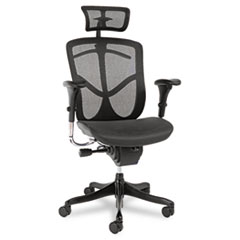 ALE EQA41ME10B Alera EQ Series Ergonomic Multifunction High-Back Mesh Chair ALEEQA41ME10B