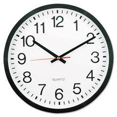 "UNV 10431 Universal 12 5/8"" Round Wall Clock UNV10431"