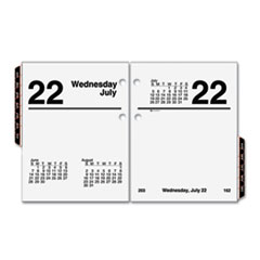 AT-A-GLANCE Recycled Compact Desk Calendar Refill, 3