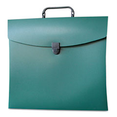 Aurora Products File N Go Portable File Box, Letter, Green