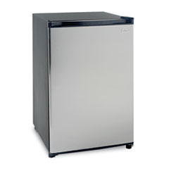 Avanti Counterhigh Refrigerator, 4.5 cubic feet, Black/Stainless Steel