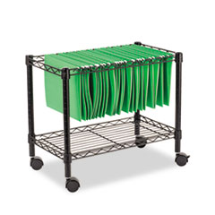ALE FW601424BL Alera Rolling File Cart ALEFW601424BL