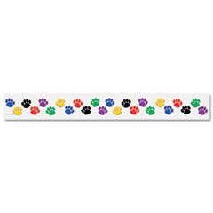 Teacher Created Resources Paw Prints Border Trim, 3