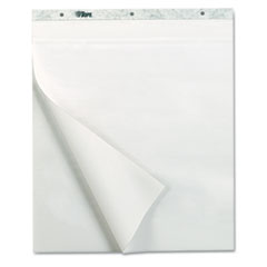 TOPS Notes Plus Self-Stick Easel Pad, Unruled, 25 x 30, White, 30 Sheets, 2 Pads/Pack