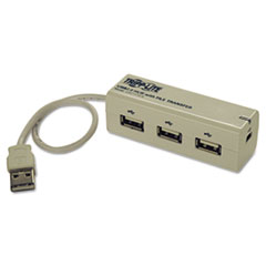 Tripp Lite U227-FT3-R 3-Port USB 2.0 Hub with built-in File Transfer Capability