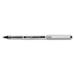 uni-ball Vision Roller Ball Stick Waterproof Pen, Black Ink, Fine, Dozen