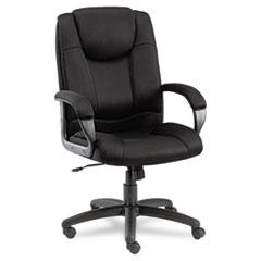 ALE LG41ME10B Alera Logan Series Mesh High-Back Swivel/Tilt Chair ALELG41ME10B