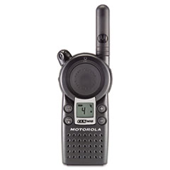 Motorola CLS Series Ultra Compact UHF Two-Way Radio, 1 Watt, 4 Channels, 56 Frequencies