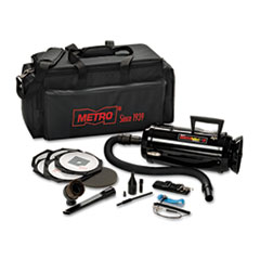 DataVac Metro Vac Anti-Static Vacuum/Blower, Includes Storage Case HEPA & Dust Off Tools