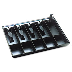 SteelMaster Cash Drawer Replacement Tray, Black